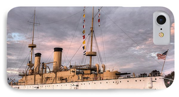 Uss Olympia IPhone Case by JC Findley
