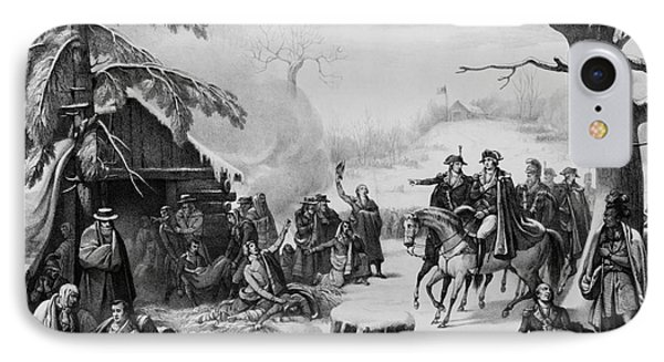 Valley Forge, 1777 IPhone Case by Photo Researchers