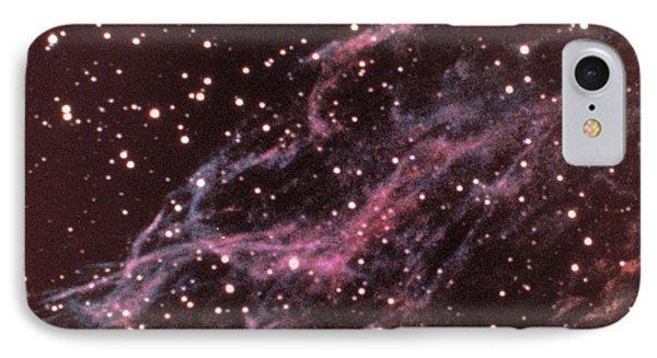 Veil Nebula In Cygnus Phone Case by USNO / Science Source