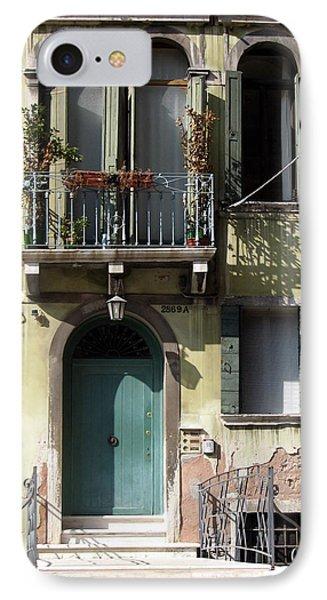Venetian Doorway Phone Case by Carla Parris