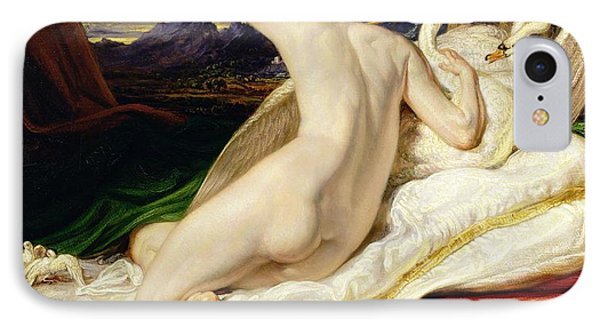 Venus Rising From Her Couch Phone Case by James Ward