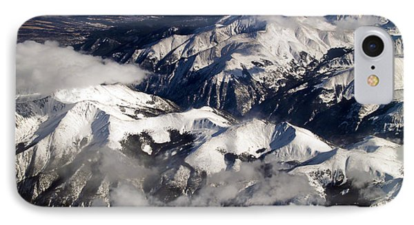 View From Above Iv Phone Case by Patricia Griffin Brett