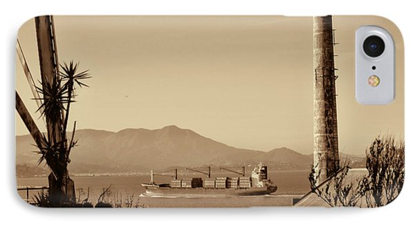View From Alcatraz IPhone Case by Douglas Barnard