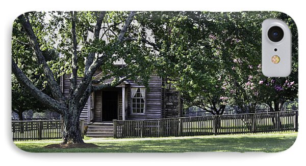 View Of Jones Law Offices Appomattox Virginia Phone Case by Teresa Mucha