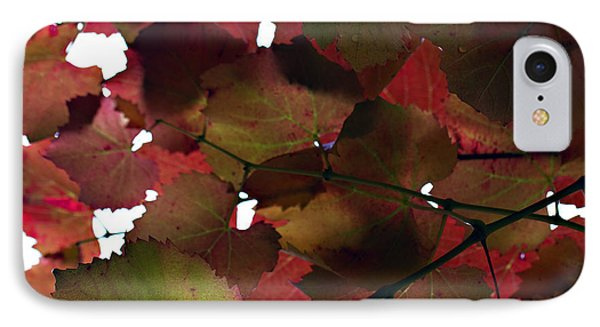 Vine Leaves Phone Case by Douglas Barnard