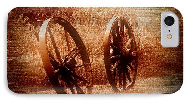 Wagon Wheels Phone Case by Ms Judi