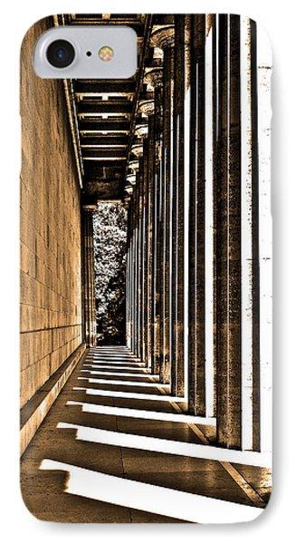 Walhalla Colonnade ... Phone Case by Juergen Weiss