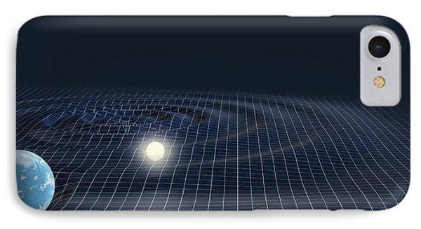 Warped Space IPhone Case by Mikkel Juul Jensen