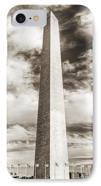 Washington Monument IPhone 7 Case by Dustin K Ryan