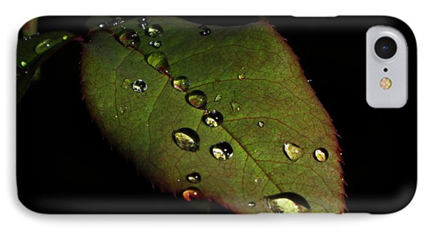 Watered-leaf Phone Case by Rosvin Des Bouillons