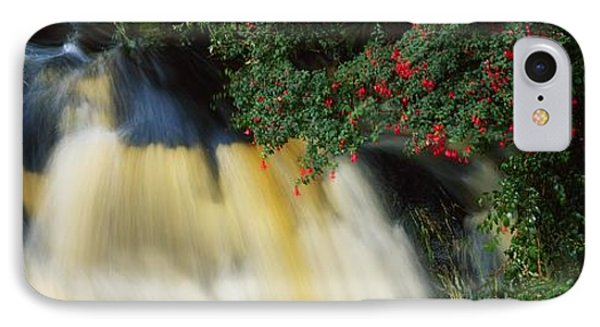Waterfall And Fuschia, Ireland Phone Case by The Irish Image Collection