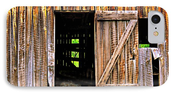 Weathered Barn Door Phone Case by Marty Koch