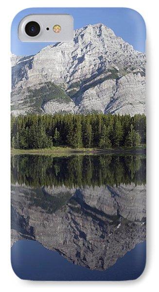 Wedge Pond, Mount Kidd, Kananskis Phone Case by Michael Interisano