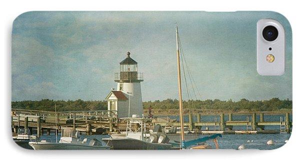 Welcome To Nantucket IPhone Case by Kim Hojnacki