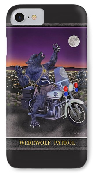 Werewolf Patrol Phone Case by Glenn Holbrook