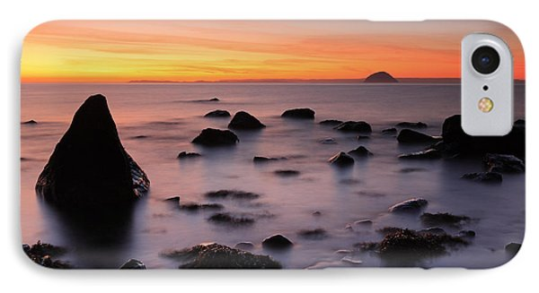 West Coast Sunset Phone Case by Grant Glendinning