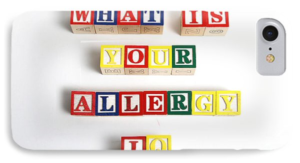 What Is Your Allergy Iq Phone Case by Photo Researchers
