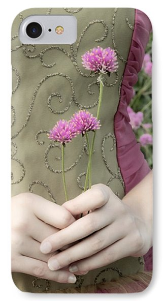 Where Have All The Flowers Gone Phone Case by Angelina Vick