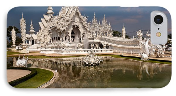 White Temple Phone Case by Adrian Evans