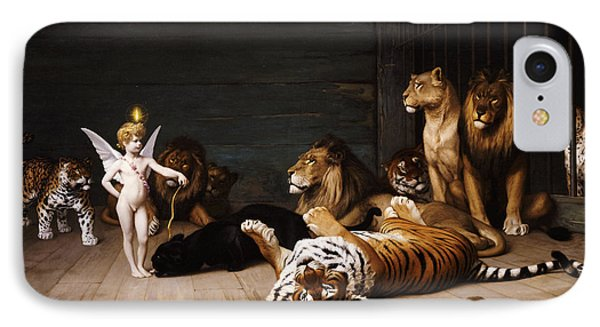 Whoever You Are Here Is Your Master Phone Case by Jean Leon Gerome