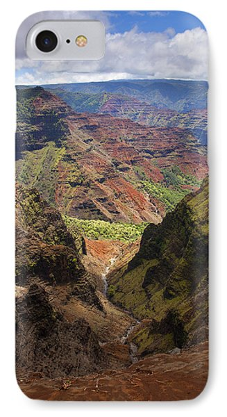 Wiamea Depth Phone Case by Mike  Dawson