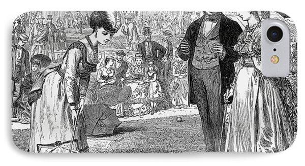 Wimbledon: Croquet, 1870 Phone Case by Granger