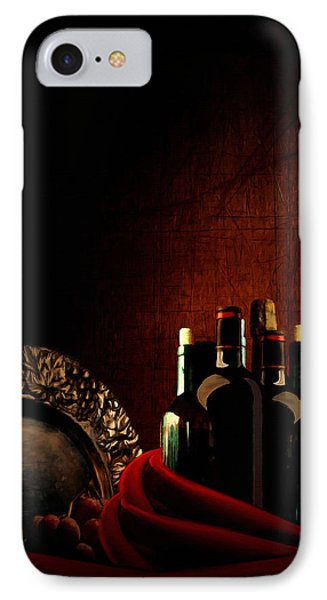Wine Break IPhone Case by Lourry Legarde