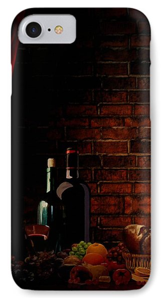 Wine Lifestyle IPhone Case by Lourry Legarde