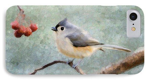 Winter Berries Phone Case by Betty LaRue