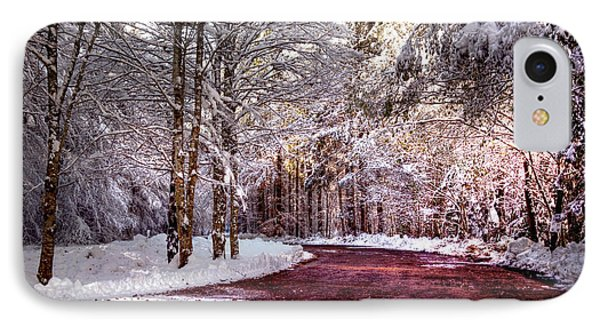 Winter Drive Phone Case by Anthony Citro