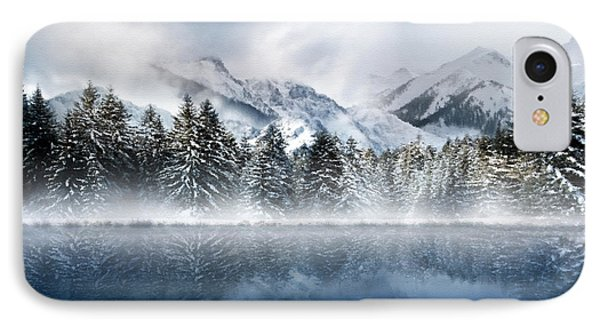Winter Mist Phone Case by Svetlana Sewell