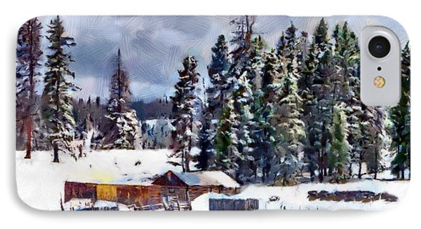 Winter Seclusion Phone Case by Jeff Kolker