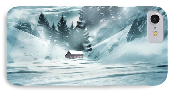 Winter Seclusion IPhone Case by Lourry Legarde