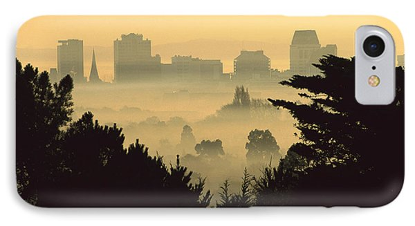 Winter Smog Over The City Phone Case by Colin Monteath