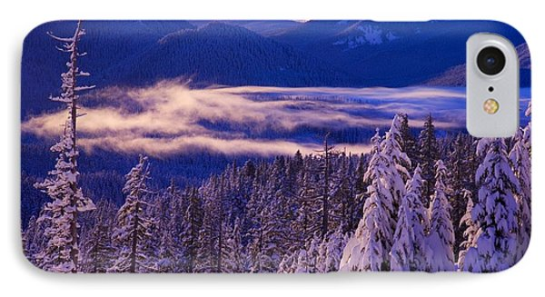 Winter Snow, Cascade Range, Oregon, Usa Phone Case by Craig Tuttle