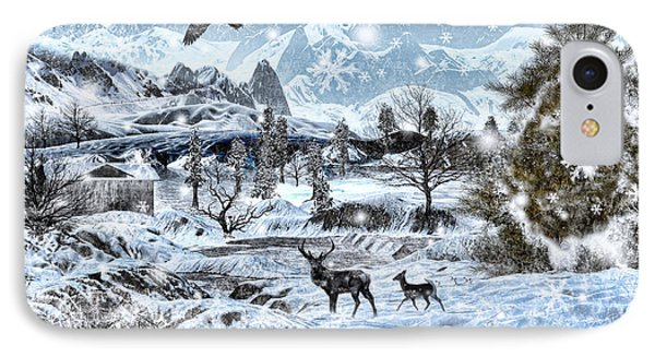 Winter Wonderland IPhone Case by Lourry Legarde