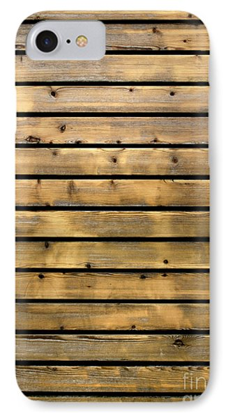 Wood Planks IPhone Case by Carlos Caetano