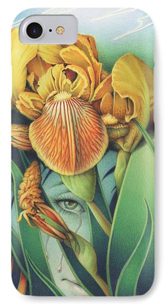 Words Left Unspoken Phone Case by Amy S Turner