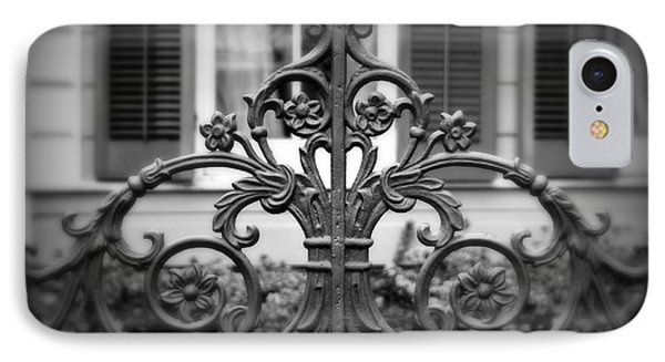 Wrought Iron Detail Phone Case by Perry Webster