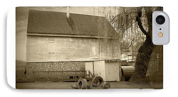 Wye Mill - Sepia Phone Case by Brian Wallace
