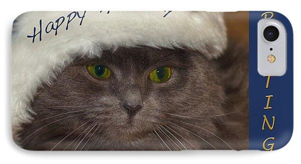 Yankee Cat Phone Case by Joann Vitali