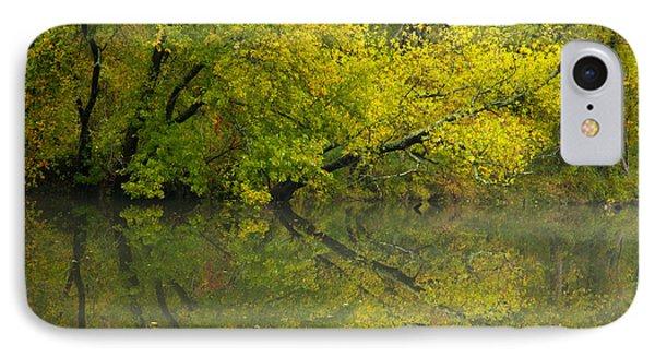 Yellow Autumn Phone Case by Karol Livote