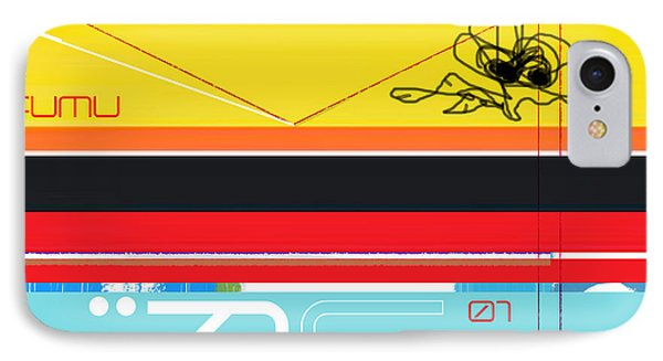 Yellow Bird IPhone Case by Naxart Studio