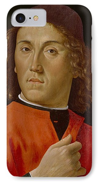 Young Man  Phone Case by Domenico Ghirlandaio