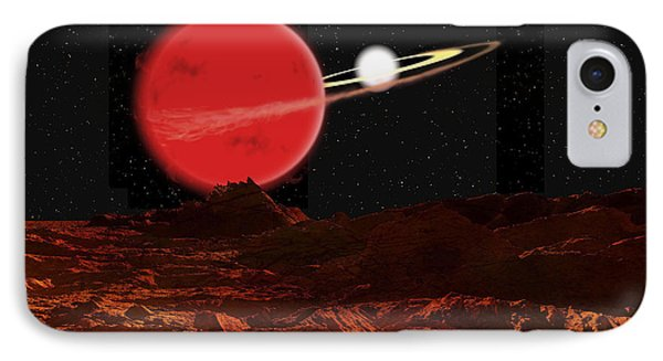 Zeta Piscium Is A Binary Star System Phone Case by Ron Miller