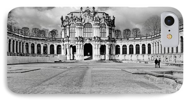 Zwinger Dresden Rampart Pavilion - Masterpiece Of Baroque Architecture Phone Case by Christine Till