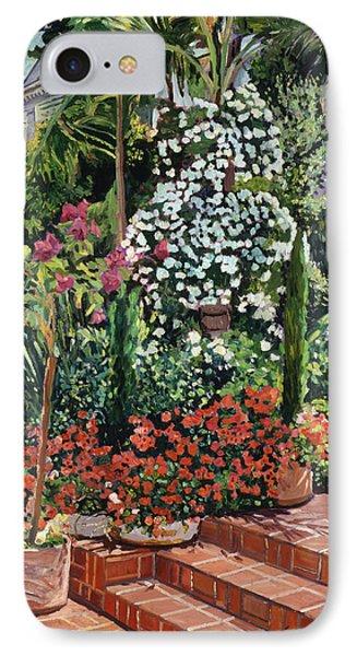 A Garden Approach IPhone Case by David Lloyd Glover