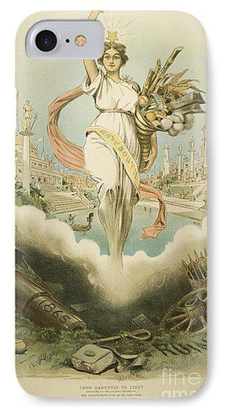 Atlanta Exposition, 1895 IPhone Case by Granger