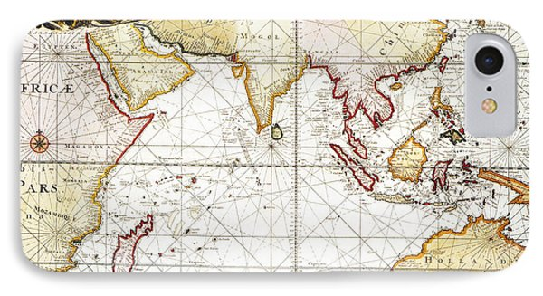 Indian Ocean: Map, 1705 Phone Case by Granger