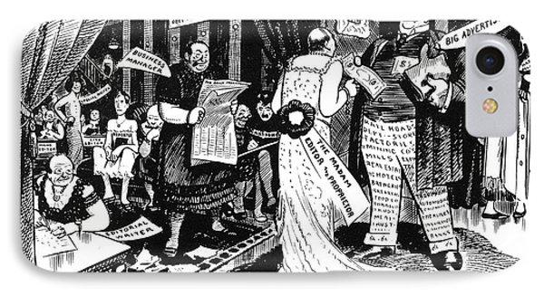 Press Cartoon, 1912 Phone Case by Granger